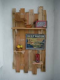 How to Make a Decorative Hanging Shelf from Pallets Slideshow The DIY  Magician - YouTube