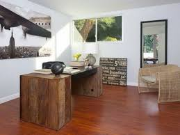 home office green themes decorating. Outstanding Dark Brown Hardwood Office Decor Ideas Of Table Which Excellent Glossy Light Wooden Floor Also Home Green Themes Decorating