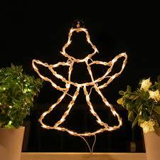 Fenster Silhouette Weihnachten Weihnachtsdeko Fensterbilder Beleuchtet Weihnachtsbeleuchtung Innen Fensterdeko Zum Aufhängen
