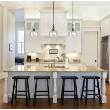 Kitchen Hanging Light Lighting Glass Pendant Lights For Kitchen Island And Clear Glass
