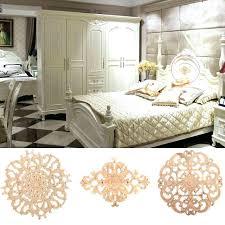 wood furniture appliques. Decorative Onlays Resin Furniture Appliques And Fashion Floral Wood Carved Decal Corner Frame Wall Doors