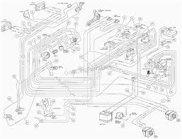Club car golf cart wiring diagram 1997 and