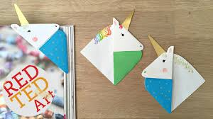 red ted art book unicorn corner bookmark red ted art s of red ted art