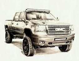 Truck Sketch Drawing at PaintingValley.com | Explore collection of ...