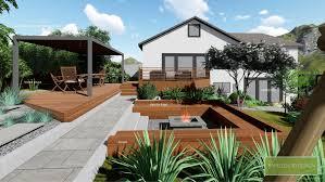 Design My Own Garden Online Free Yardzen Online Landscape Design