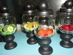 Baby Food Jar Decorating Ideas Too stinking cute I have a ton of baby food jars that were given 2