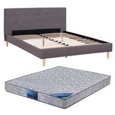 double bed top view. Denver Fabric Queen Bed Frame \u0026 Innerspring Mattress For $379 Double Top View