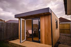 initstudios39 prefab garden office spaces. Garden Office Space. Home Space Contemporary With Rooms Round Wall Clocks Initstudios39 Prefab Spaces