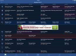 tv guide. ipad screenshot 3 tv guide