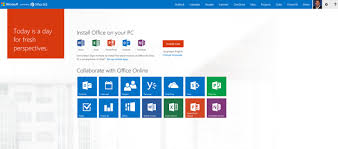 Micro Soft Home Page Launch Documents And Get Started Right Away With The New Office 365