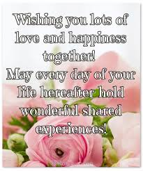 200 inspiring wedding wishes and cards for couples that inspire you Wedding Wishes Card i hope wishing you lots of love and happiness together! may every day of your life hereafter wedding wishes card messages