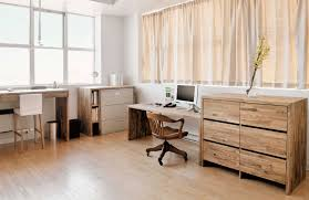cabinets for home office. Spacious Scandinavian Home Office With Filing Cabinets Rotary Chair And Hardwood Floor For