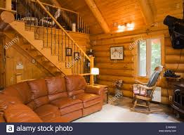 Quebec Bedroom Furniture Living Room Stairs Leading To The Upstairs Master Bedroom Inside A
