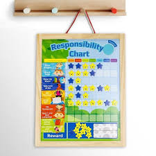 Shop Wooden Rewards Chore Chart Responsibility Behavior Star