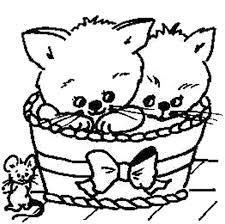 Kleurplaten Van Katten En Poezen