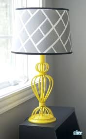 grey lamp shades architecture best yellow lamp shades ideas on projects pertaining to grey and shade