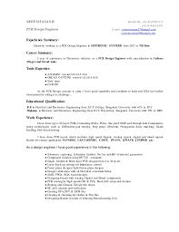 Circuit Design Engineer Sample Resume Custom Pcb Design Engineer Resume Analog Design Engineer Sample Resume