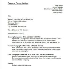 Write A General Cover Letter General Cover Letter No Specific Job Examples Erpjewels 21