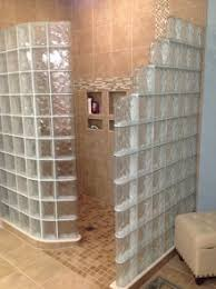 Glass Block Shower & Walk-In Designs