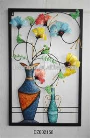 decorative metal wall art decor flower and vase on flowers in vase metal wall art with decorative metal wall art decor flower and vase buy metal wall