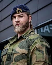 Lasse is the bearded norwegian lieutenant, and the perfect gentleman for the gentleman diaries. Lasse L Matberg