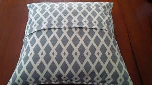 throw pillows with removable covers. Simple Pillows The Square Front Of Each Pillowcase Should Be The Size Pillow Form  Plus One Inch For A 20 In Throw Pillows With Removable Covers