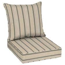 24 x 24 sunbrella cove pebble deep seating outdoor lounge chair cushion