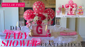 diy girl baby shower ideas dollar tree baby shower centerpiece baby shower candy buffet ideas