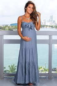 Light Maxi Dress Light Blue Maxi Dress With Tie Front
