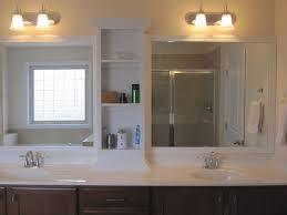 Double Mirrored Bathroom Cabinet Ikea Bathroom Mirrors Bathroom Ideal Bathroom Cabinet Home Depot
