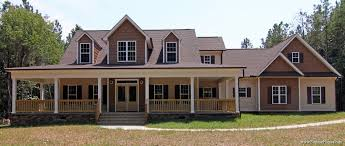 low country farmhouse plan with wrap