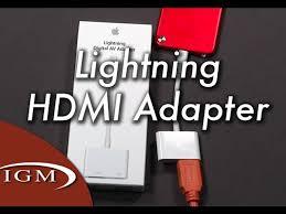 lightning to hdmi digital av adapter