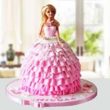 Send Barbie Cakes Online Barbie Cake Designs Myflowertree