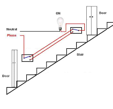 ee tym stair case wiring circuit stair case wiring circuit staircase wiring circuit diagram