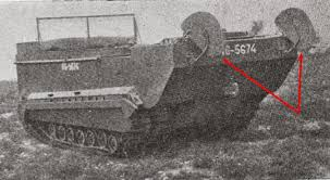some weasel pics m29c rear notice the twin rudders