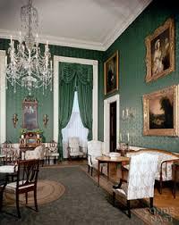 White house floor1 green roomjpg Inside The White House Green Room The White House