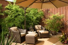 inspiration condo patio ideas. Bright Offset Umbrella In Patio Asian With Hosta Gardens Next To Covered  Ideas Alongside Tatami Room And Yard Fence Inspiration Condo Patio Ideas