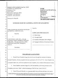 LESLEY ANN CLEMENT, Bar No. 137672 CLEMENT & ASSOCIATES Attorneys at Law  2209 J Street Sacramento, Califomia 95816 Telephone