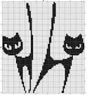 Вязание котов схема