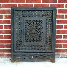 fireplace vent cover metal fireplace cover metal fireplace vent covers fireplace wall vent cap