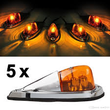 Led Cab Lights 2019 5x Universal Teardrop Style Amber Led Cab Roof Clearance Marker Lights Kit For Truck From Yyan2016 34 18 Dhgate Com