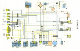 xt500 1978 wiring diagram xt500 wiring diagrams