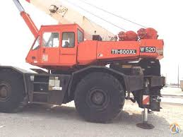 Alcoa 60 Ton Die Chart Sold Cb J 364 1992 Tadano Tr600xl 60 Ton Crane For On