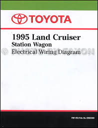 1995 toyota land cruiser wiring diagram manual original Toyota Land Cruiser Wiring Diagram 1995 toyota land cruiser wiring diagram manual factory reprint 1974 toyota land cruiser wiring diagram
