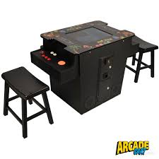 Cocktail Arcade Cabinet 60 Games In 1 Cocktail Arcade With Trackballs Arcade Cart
