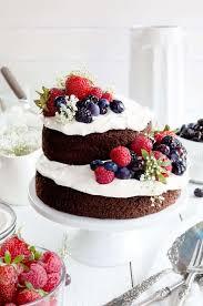One Bowl Chocolate Fruit Cake I Am Baker