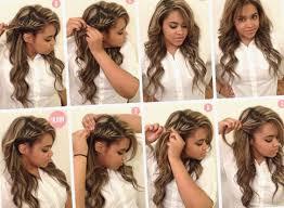 Image Tuto Coiffure Simple Et Rapide Cheveux Long Coiffure
