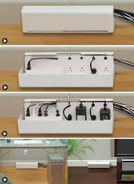 Power strip box to hide cables. I need this in my life! Now if