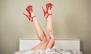 Rub me with her leg fetish