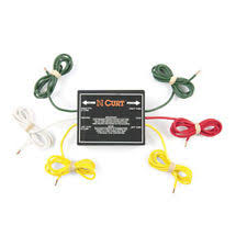 to wire taillight converter curt wiring 56196 universal non powered 2 wire to 3 wire taillight converter